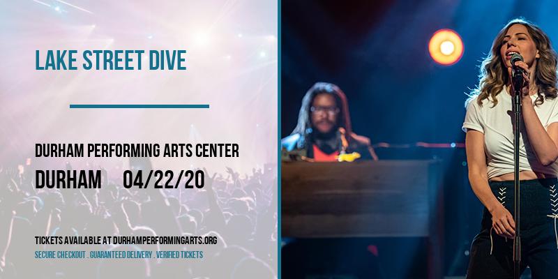 Lake Street Dive at Durham Performing Arts Center