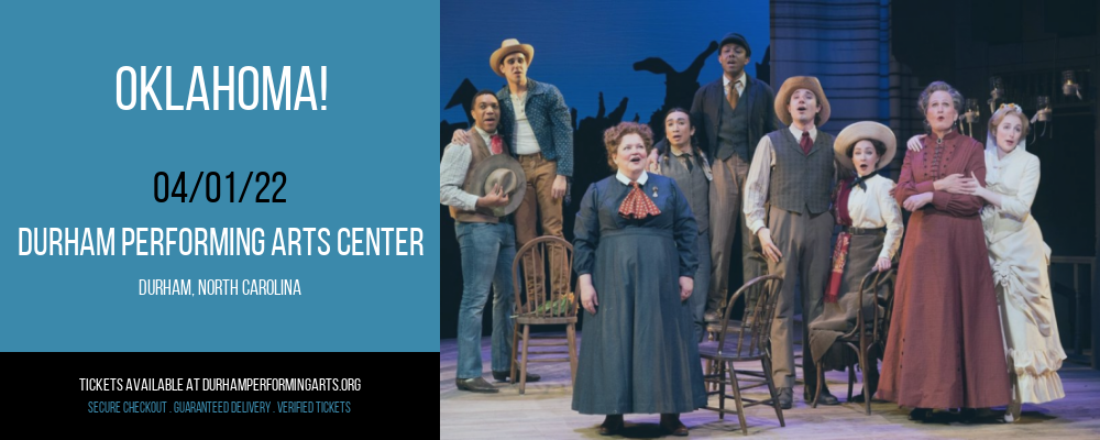 Oklahoma! at Durham Performing Arts Center