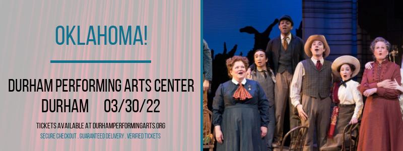Oklahoma! at Durham Performing Arts Center