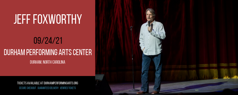Jeff Foxworthy at Durham Performing Arts Center