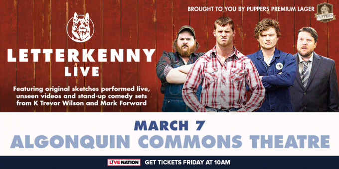Letterkenny Live at Durham Performing Arts Center