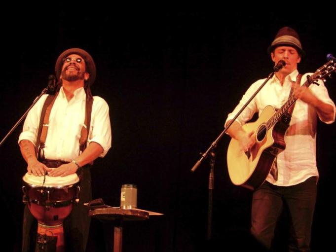 Jason Mraz & Toca Rivera at Durham Performing Arts Center