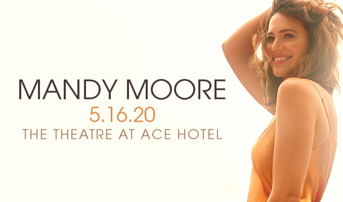 Mandy Moore [CANCELLED] at Durham Performing Arts Center
