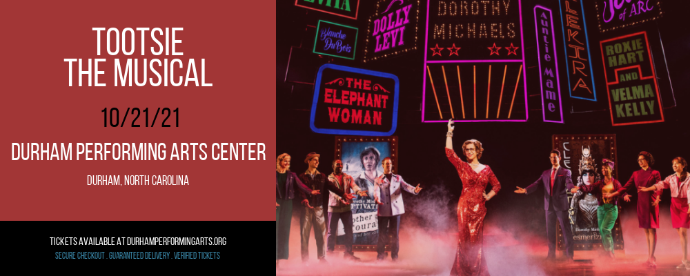 Tootsie - The Musical at Durham Performing Arts Center